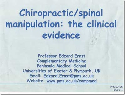 The clowns at the General Chiropractic Council got it wrong on Sciatica. What a surprise!